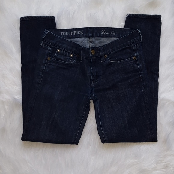 4/$20 Toothpick Jeans by J. Crew